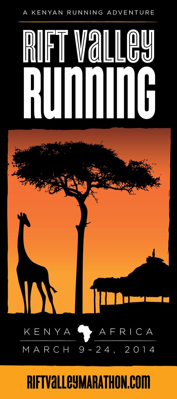 Rift Valley Marathon brochure design