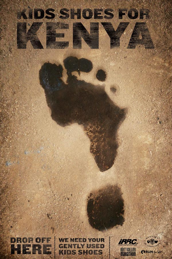 Rift Valley Marathon poster design