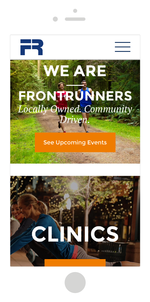 Frontrunners Homepage
