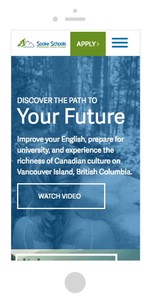 Sooke Schools International Student Program Mobile