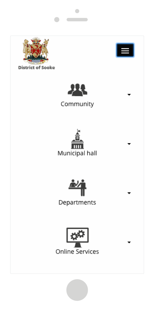 District of Sooke mobile development