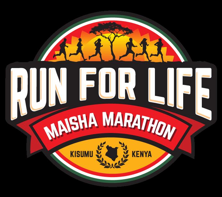 Run for Life Marathon Logo Design