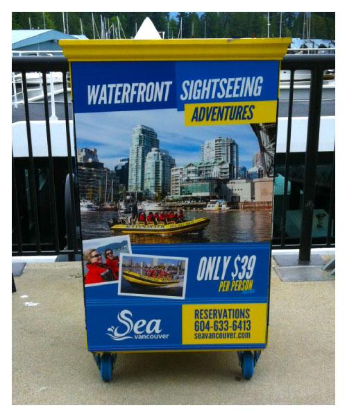 Sea Vancouver Kiosk Design