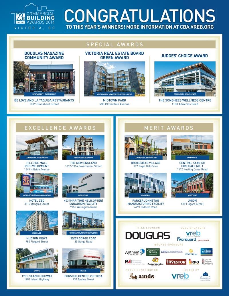 Douglas magazine ad design